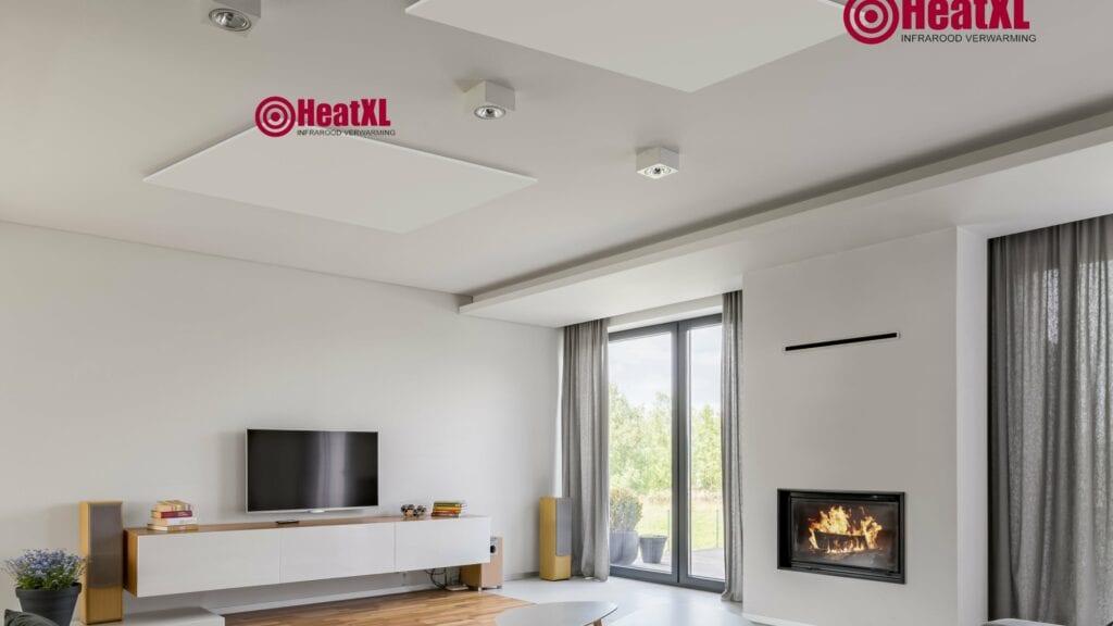 Infrarood paneel infrarood panelen infrarood verwarming plafond wand alkari ecaros welltherm heatxl woonkamer studeerkamer keuken garage hal kinderkamer slaapkamer woonkamer wit zwart foto 19